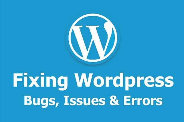 wordpress bug fixes